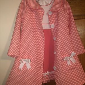 Children's coat/dress set.